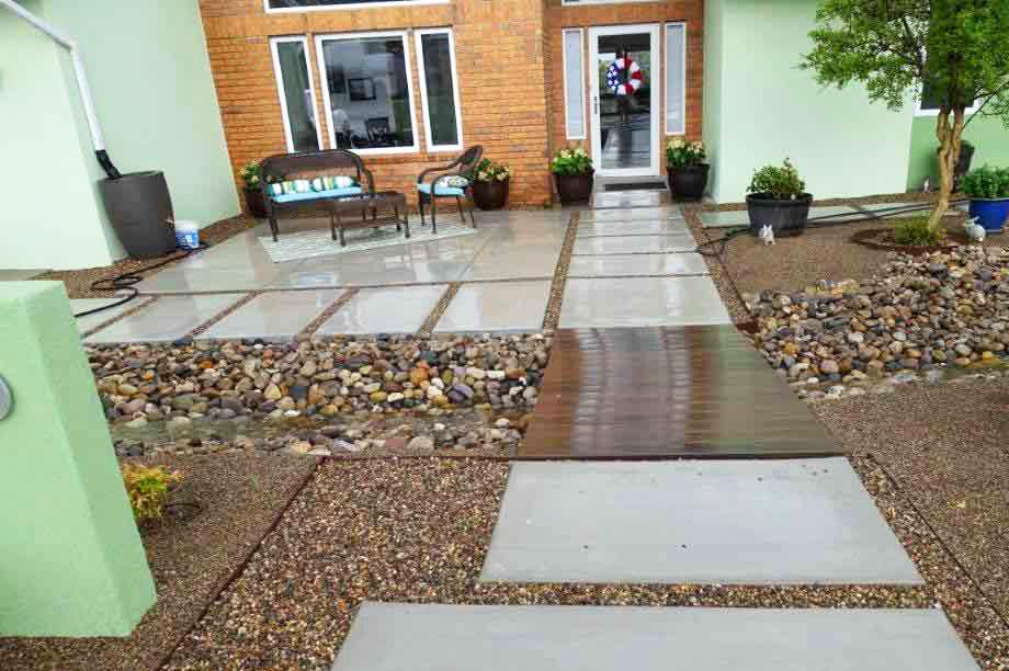 Water harvesting for residential landscapes