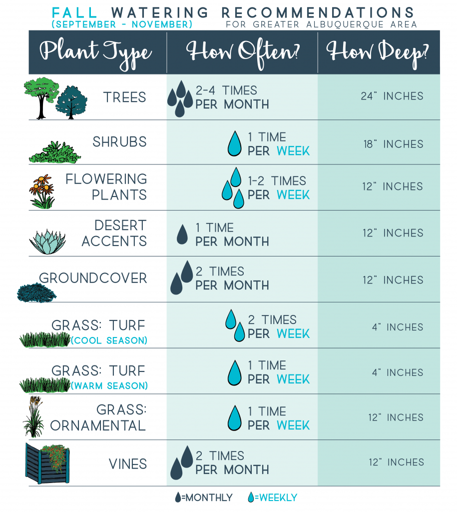 Fall Watering Recommendations