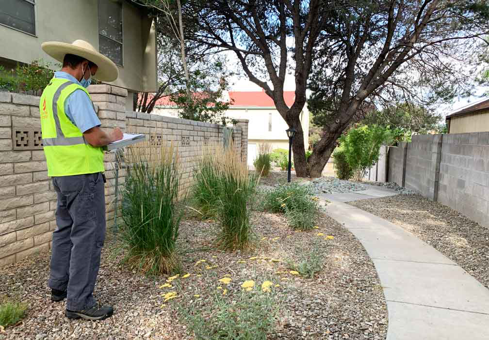 Xeriscape Conversion Inspection