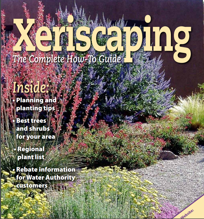 Xeriscaping Document Cover Page