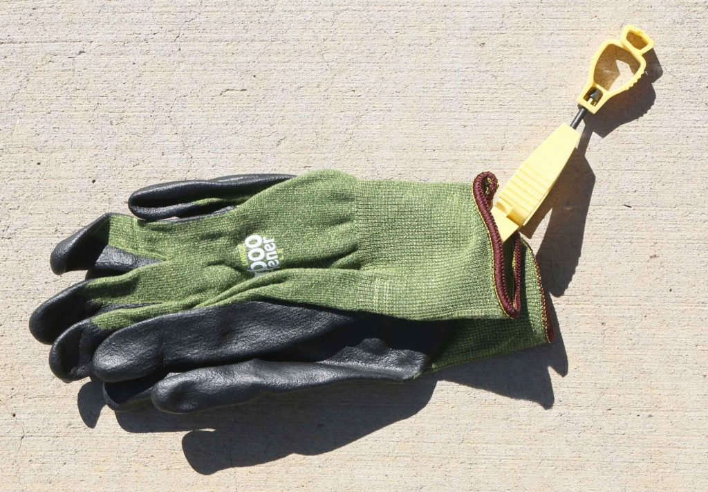 glove and glove clips